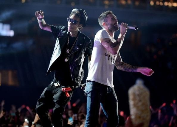 Wiz Khalifa & Adam Levine (Maroon 5)
