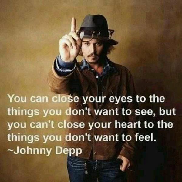 Vous vous pouvez fermiez votres yeux pour toutes les choses que vous ne voulez pas le voir Mais vous ne pouvez pas fermer votre c½ur pour des choses qui ne veulent pas le sens de celui-ci ..