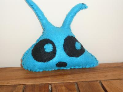 Lapin bleu