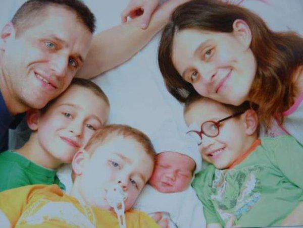 Notre famille au complet