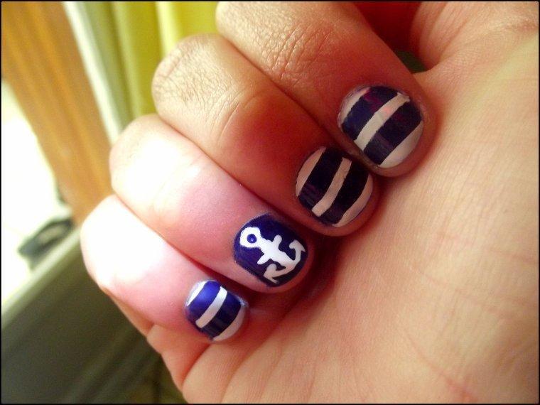 Nail art ( 18 ) Marin