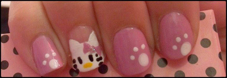 Nail arts ( 27 ) Hello Kitty