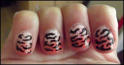 Nail arts ( 29 ) Tigre