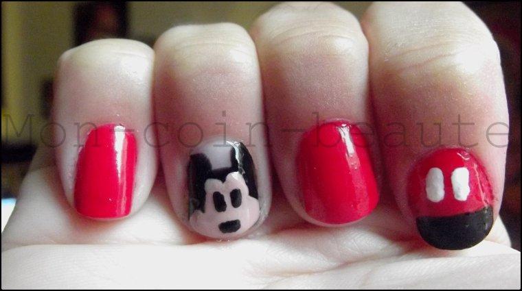 Nail art (43 ) Mickey