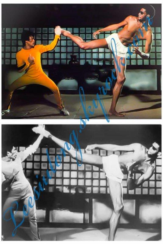 Bruce Lee Rare video