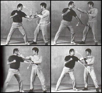 """Le """"Chi Sao"""" par Bruce Lee"""