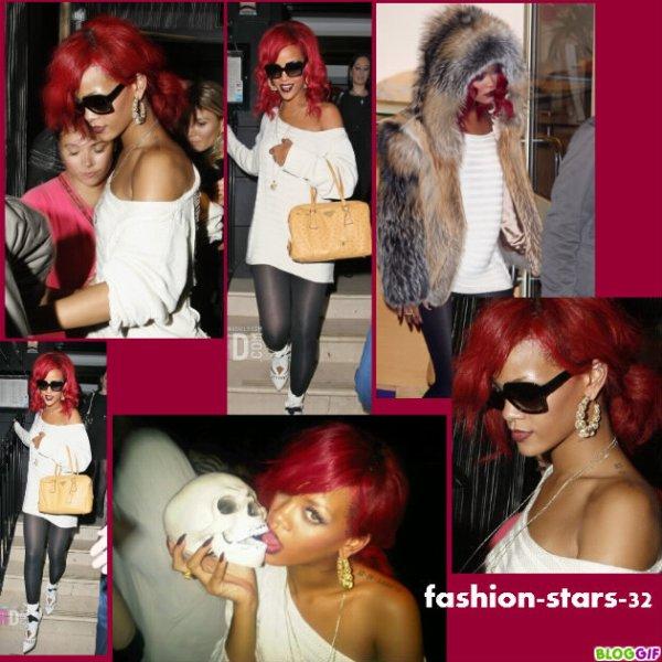 Rihanna X Factor + Halloween.                     31 Octobre , 1er Novembre