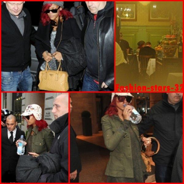 Rihanna , Matt Kemp & Katy Perry à Madrid + Rihanna à Milan.                                         7 ,8 & 9 Novembre