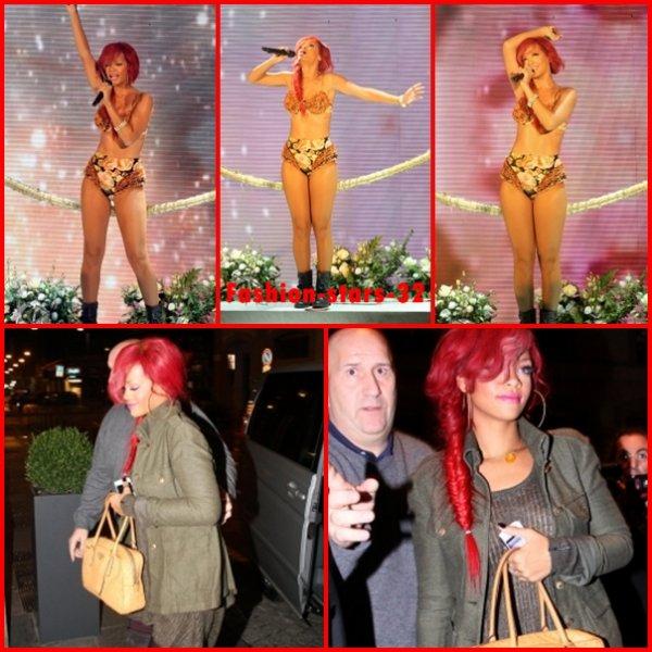 Rihanna au X Factor en Italie