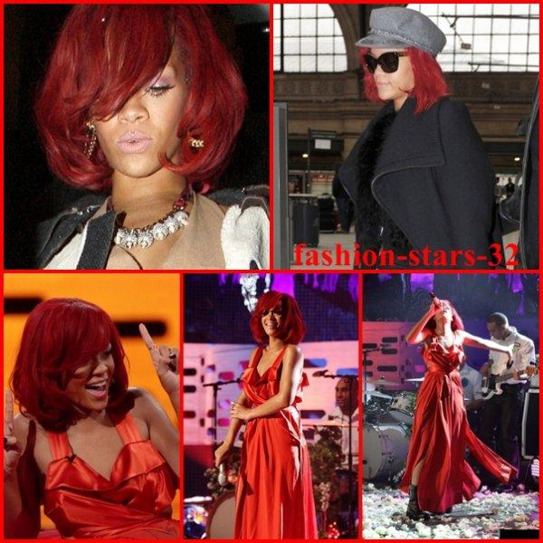 Rihanna dans un club + show  .                             12 Novembre
