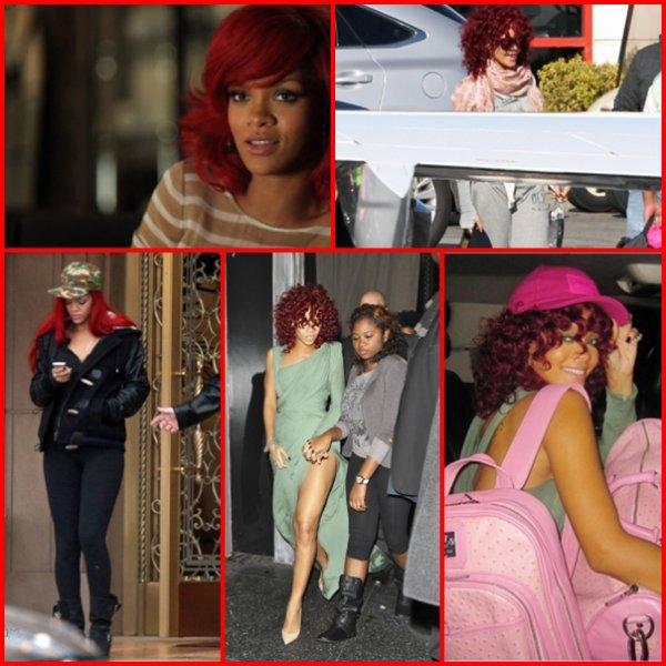 Rihanna shoot + dernières news .       21 et 22 Novembre .