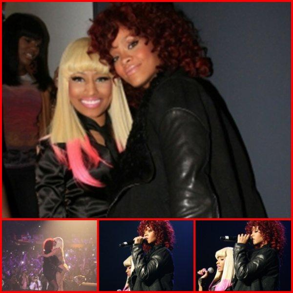 "Rihanna couv' ""in"" , couv' ""GQ British "" , concert de  Thanksgiving à New York .  25 Novembre"