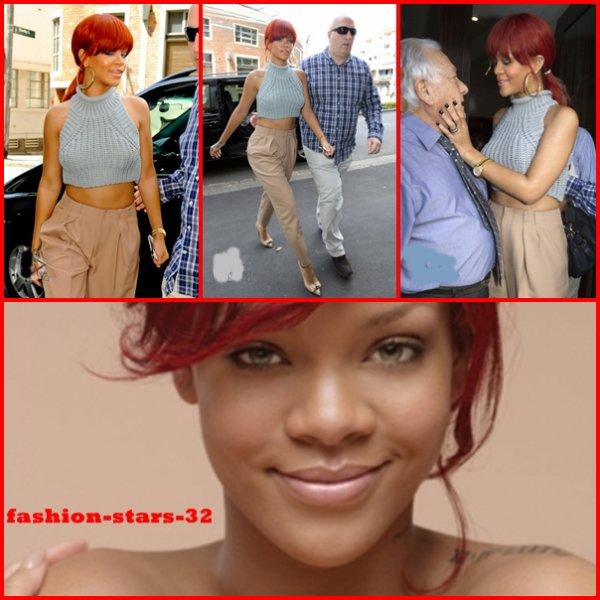 Rihanna fête + Bar + Nivea .          3 Mars