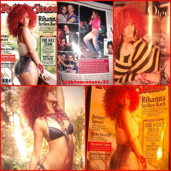 """Rihanna dans """"Rolling Stone"""""""