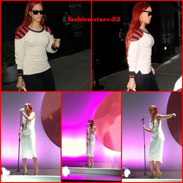 Rihanna New York & Milan             3,4 et 5 Mai.