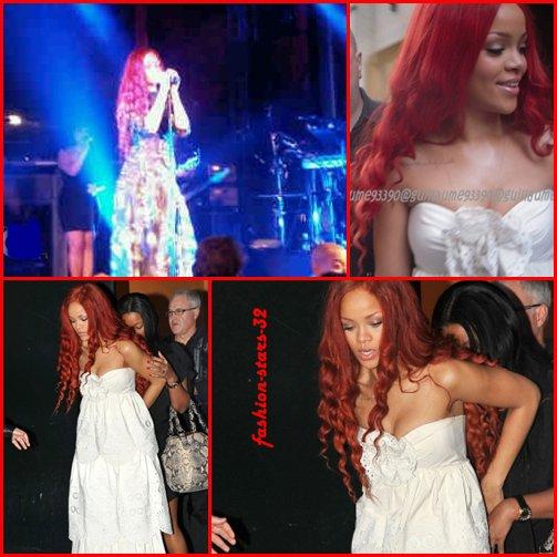 Rihanna à Londres & Paris.           6 Mai