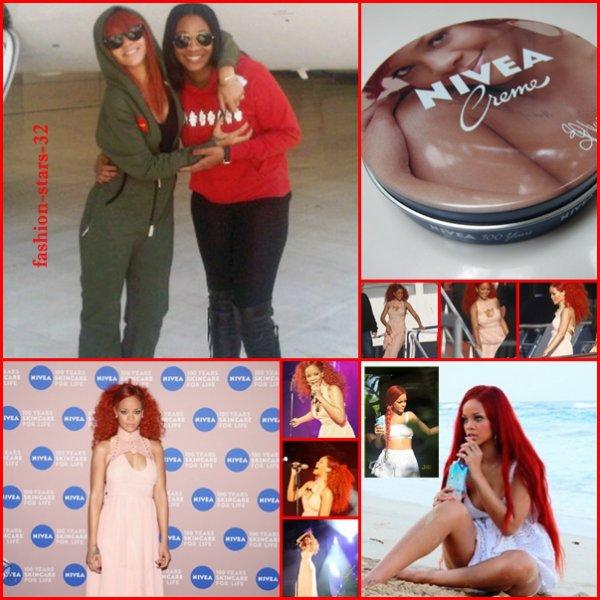 Rihanna Nivea + en Allemagne + Vita Coco + l'Ukraine.   9/12 Mai