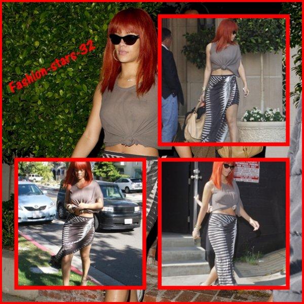 Rihanna à Los Angeles.    15 & 16 Mai