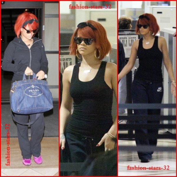 """Rihanna à l'aeroport de LA & au """"Today Show""""   25/27 Mai"""
