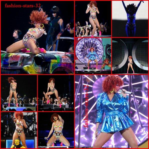 Rihanna concert à Toronto.             4/5/6/7 Juin