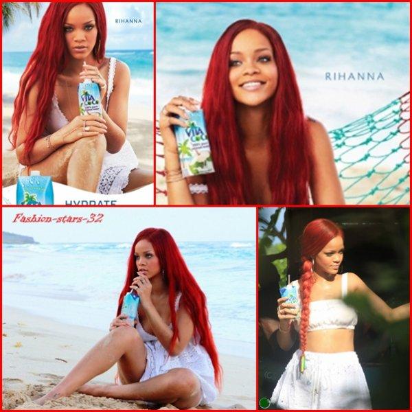 Rihanna concert LA + Vita Coco + à Oakland.  28/30 Juin