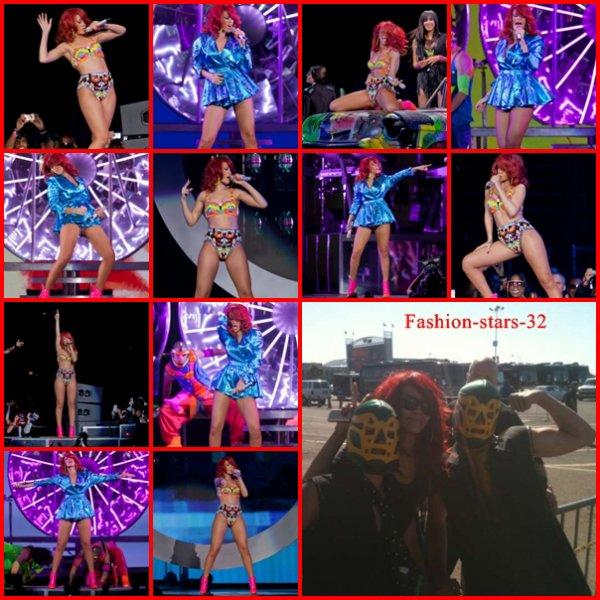 Rihanna concert Oakland + Concert Anaheim + Concert & sorties à Las Vegas.  29/ 30 Juin et 2 Juillet