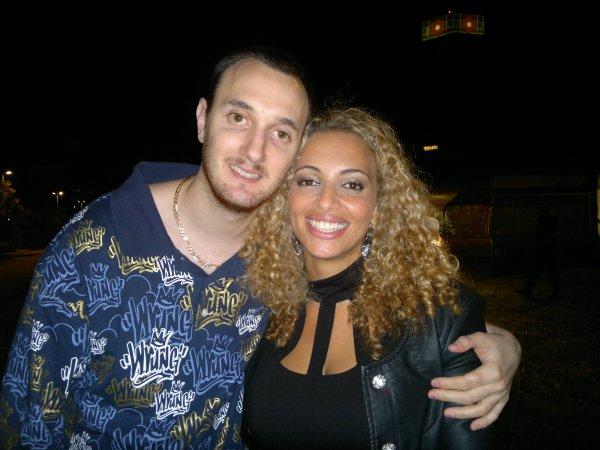 Avec Kayna Samet le 10 Septembre 2011