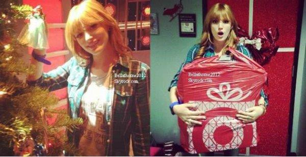 Nouvelles photos twitter de Bella le 11 décembre :