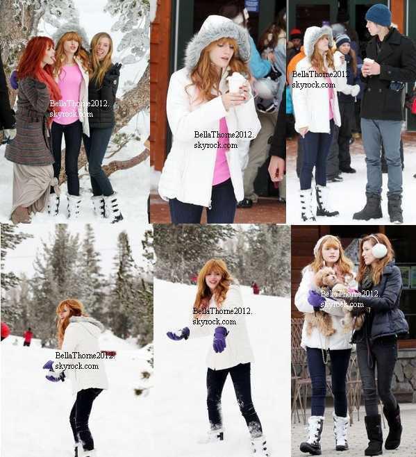Nouvelles photos de Bella au Lac Tahoe fin décembre 2012 :