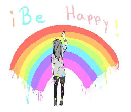 La vie est comme un arc-en-ciel : il faut de la pluie et du soleil pour en voir les couleurs.