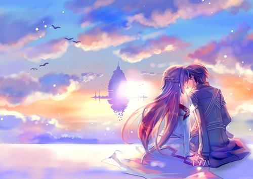 Un jour la mer aura emporté tout le sable. Les océans s'assécheront, et le soleil s'éteindra. Mais quand ce jour viendra, je t'aimerai encore. Mon amour sera éternel.