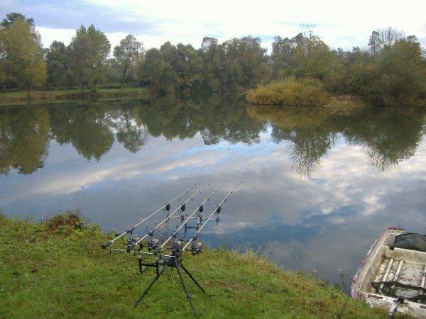Un 24 heure passé dans un étang !!!