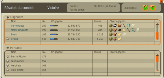 Petit Ben le Ripate Butin 8 +Up 143 =D