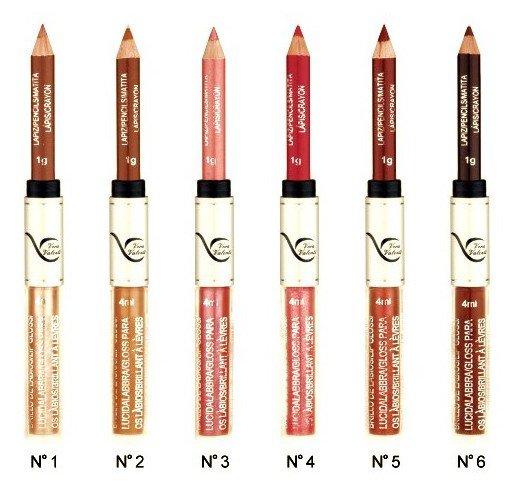 Pratique : Le Gloss + Crayon à lèvres ton sur ton !!