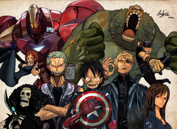 One Piece ou Avengers ? Ou les deux ?