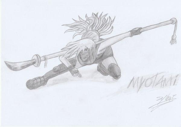 Myotami, manieuse de Nigata !