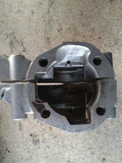 Préparation carters moteur MBK 51.