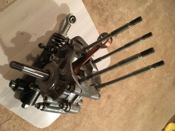 Montage bas moteur Bidalot / MBK 51