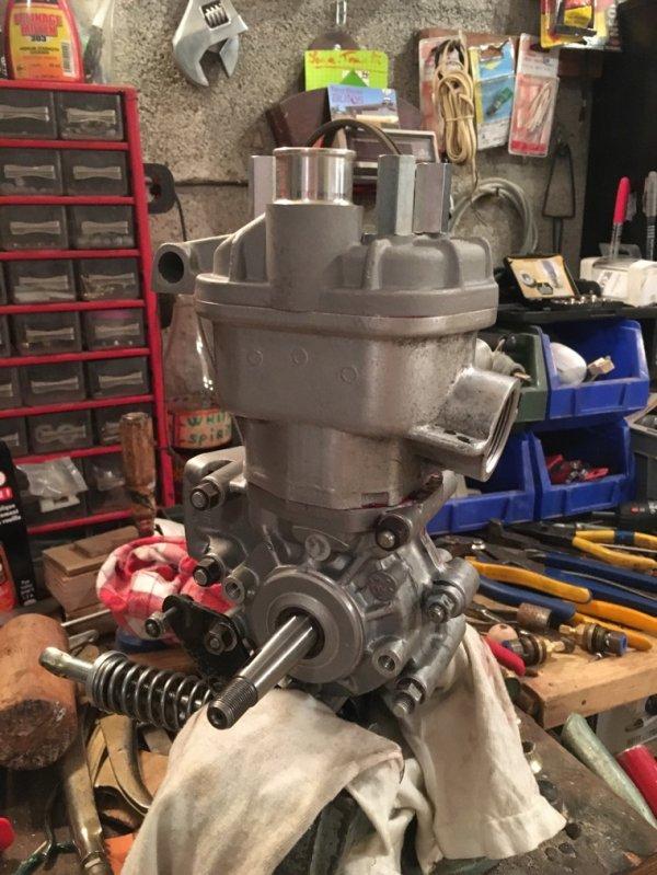 Montage du haut moteur Bidalot G2RR