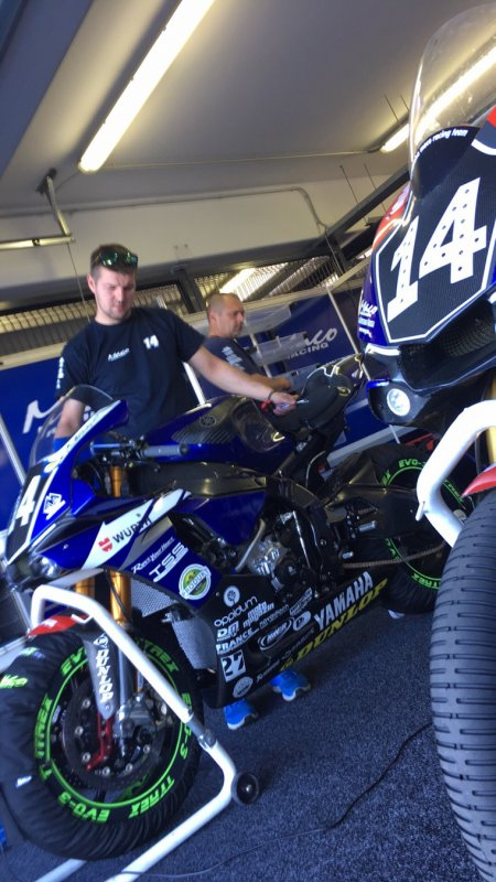 EWC 8h Slovakiaring with Yamaha Maco Racing Team