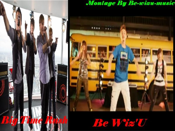 Be Wiz'U Contre Big Time Rush