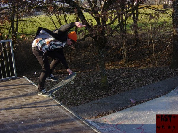 .Back tail crail