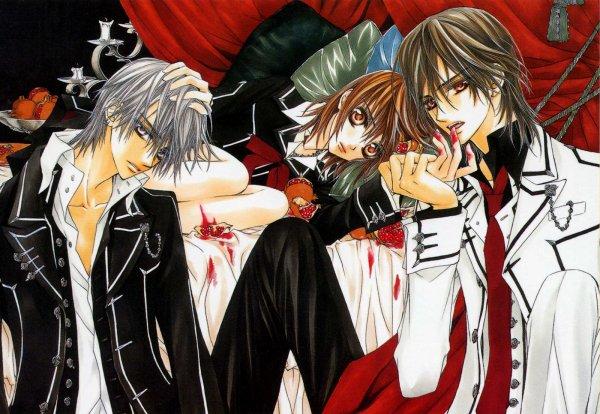 vampire knight:un manga qui ne  manque pas de canines