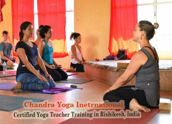 Yoga and Meditation in Chandra Yoga International.