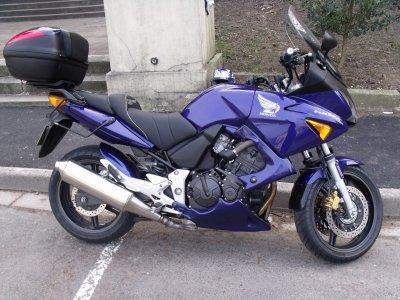 HONDA 600 CBF SA , keep the spirit of dream way