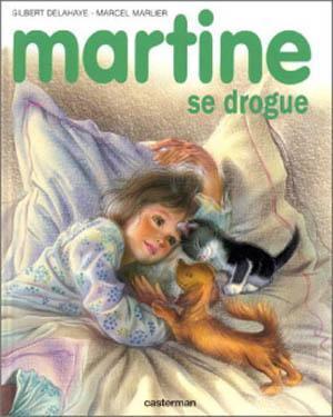 Martine se drogue quand martine part en couille - Martine fait la cuisine ...