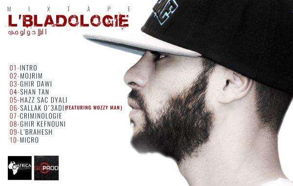 LBLADOLOGIE  / MB1 - HAZ SAC DYALI (MIXTAPE LBLADOLOGIE ) (2016)