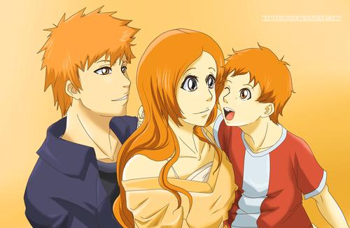 ichigo inoue parent