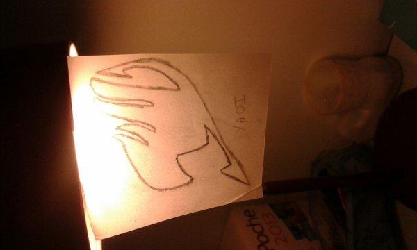 Ma déco de lampe de bureau