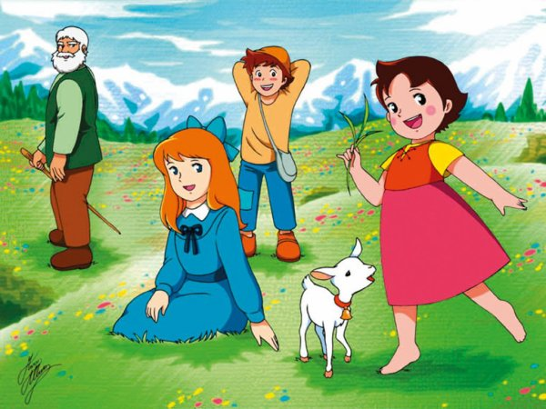 Ma chanson préférée dans Alps no shoujo Heidi / Heidi